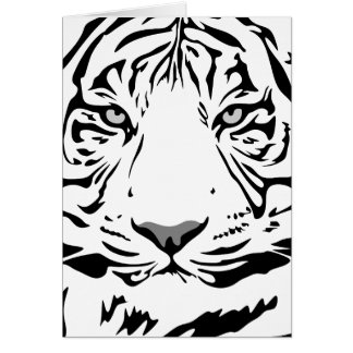 WHITE TIGER CARD