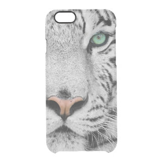 White Tiger Clear iPhone 6/6S Case
