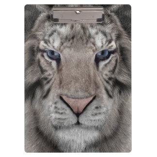 White Tiger Clipboard