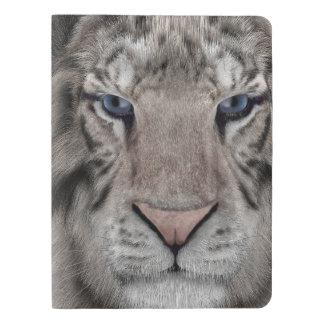 white_tiger_head extra large moleskine notebook