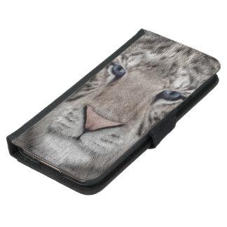 white_tiger_head samsung galaxy s5 wallet case