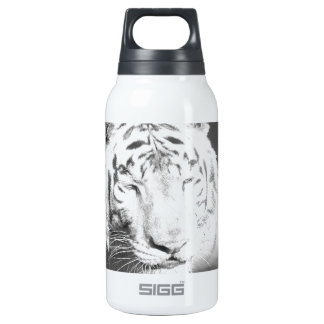 White Tiger Insulated Water Bottle