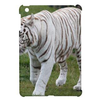 White Tiger iPad Mini Cover