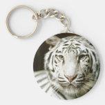 White Tiger Key Chains