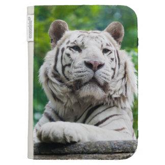 White Tiger Kindle case