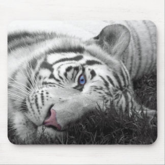 White Tiger mousepad