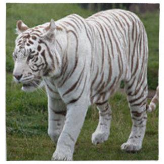 White Tiger Napkin