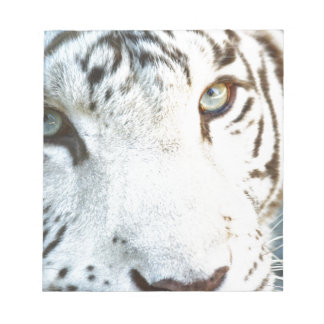 White Tiger Notepad
