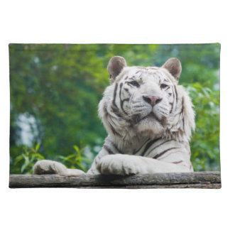 White Tiger placemats