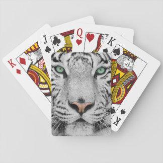 White Tiger Poker Deck