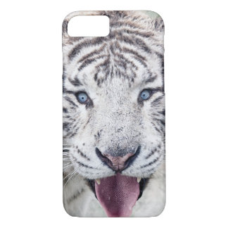 White Tiger Portrait iPhone 7 Case