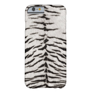 White Tiger Skin Print Barely There iPhone 6 Case