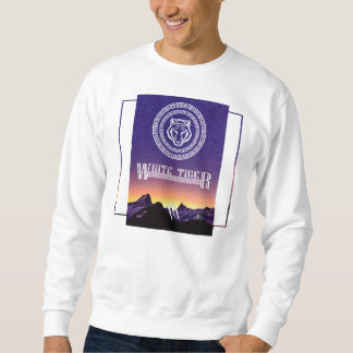 White Tiger Sweater (For hiver) Sweatshirt