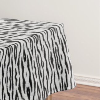 White Tiger Tablecloth