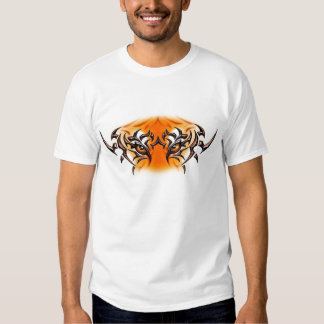white-tiger-tattoo-color-eyes-face tshirts