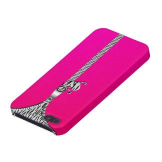 White Tiger Zipper Iphone5 Case iPhone 5 Case