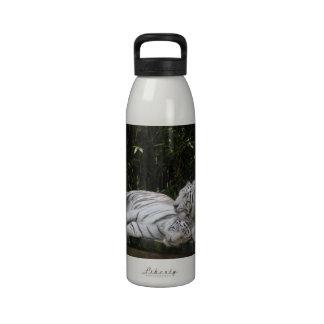 White Tigers Bottle Water Bottles
