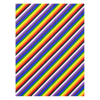 White To Black Rainbow of Color Spaces Tablecloth