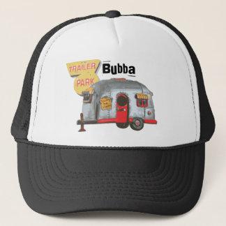 White Trailer Trash Trucker Hat