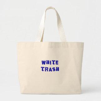 White Trash Canvas Bags