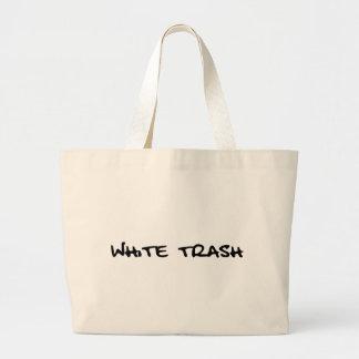 White Trash Jumbo Tote Bag