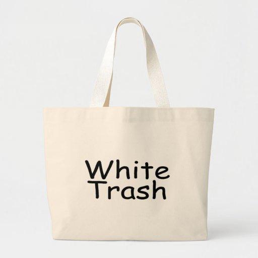 White Trash Tote Bags