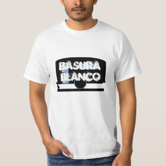 White Trash ~ Basura Blanco ~ Camp Travel Trailer Tee Shirt