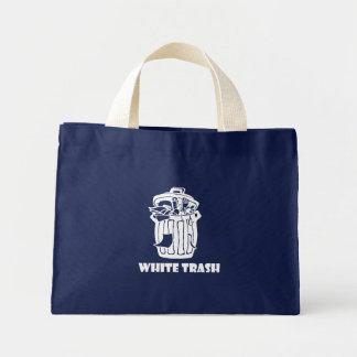 White Trash Garbage Can Mini Tote Bag
