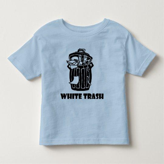 White Trash Garbage Can Toddler T-shirt