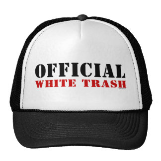 White Trash Hat