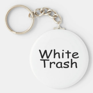 White Trash Keychain