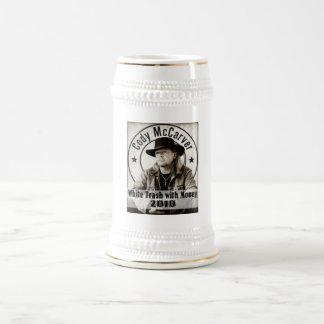 White Trash with Money Beer Stein