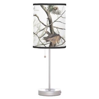 White Tree Camo Lamp