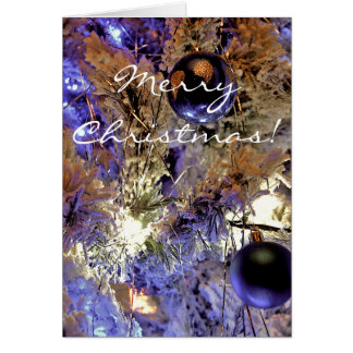 White Tree [Christmas Card] Card