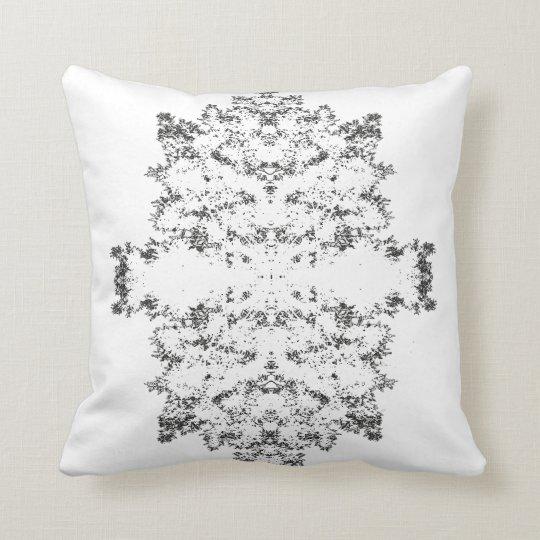 White Tree Throw Pillow