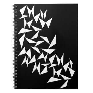 White Triangles Notebook