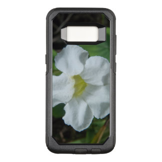 White Tropical Flower Found on Fiji OtterBox Commuter Samsung Galaxy S8 Case