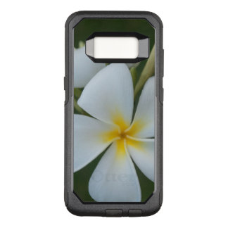 White Tropical plumeria Flower From Fiji OtterBox Commuter Samsung Galaxy S8 Case