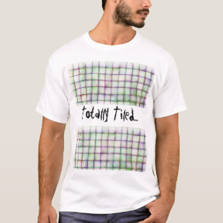 White Tshirt - Totally Tiled