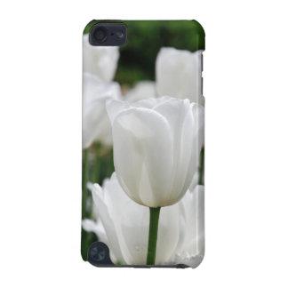 white tulip garden iPod touch 5G case