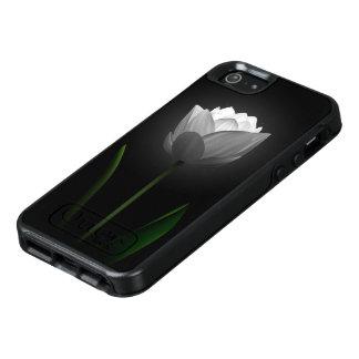 White Tulip OtterBox iPhone SE Case