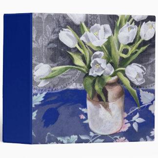 White Tulips 1994 Binders