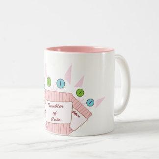 White Tumblercat Mug