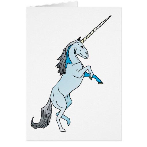 White Unicorn Cards