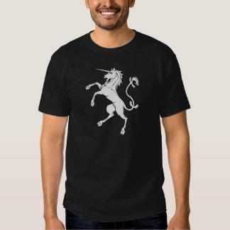 White Unicorn Rearing/Standing Tees