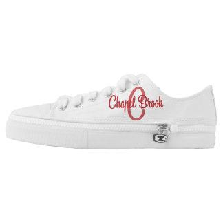 white unisex chapel brook canvas shoes