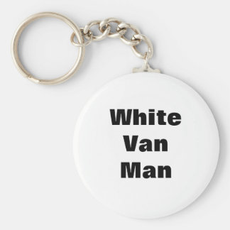 White Van Man Mug Key Chain