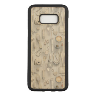 White Vanity Table Carved Samsung Galaxy S8+ Case