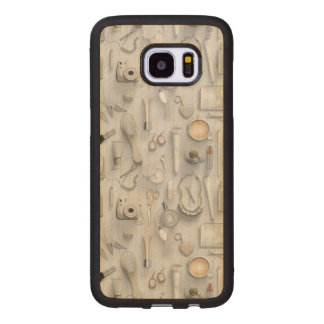White Vanity Table Wood Samsung Galaxy S7 Edge Case
