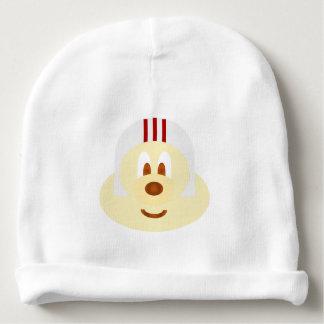 White W Helmet 鲍 鲍 Baby Cotton Beanie Baby Beanie